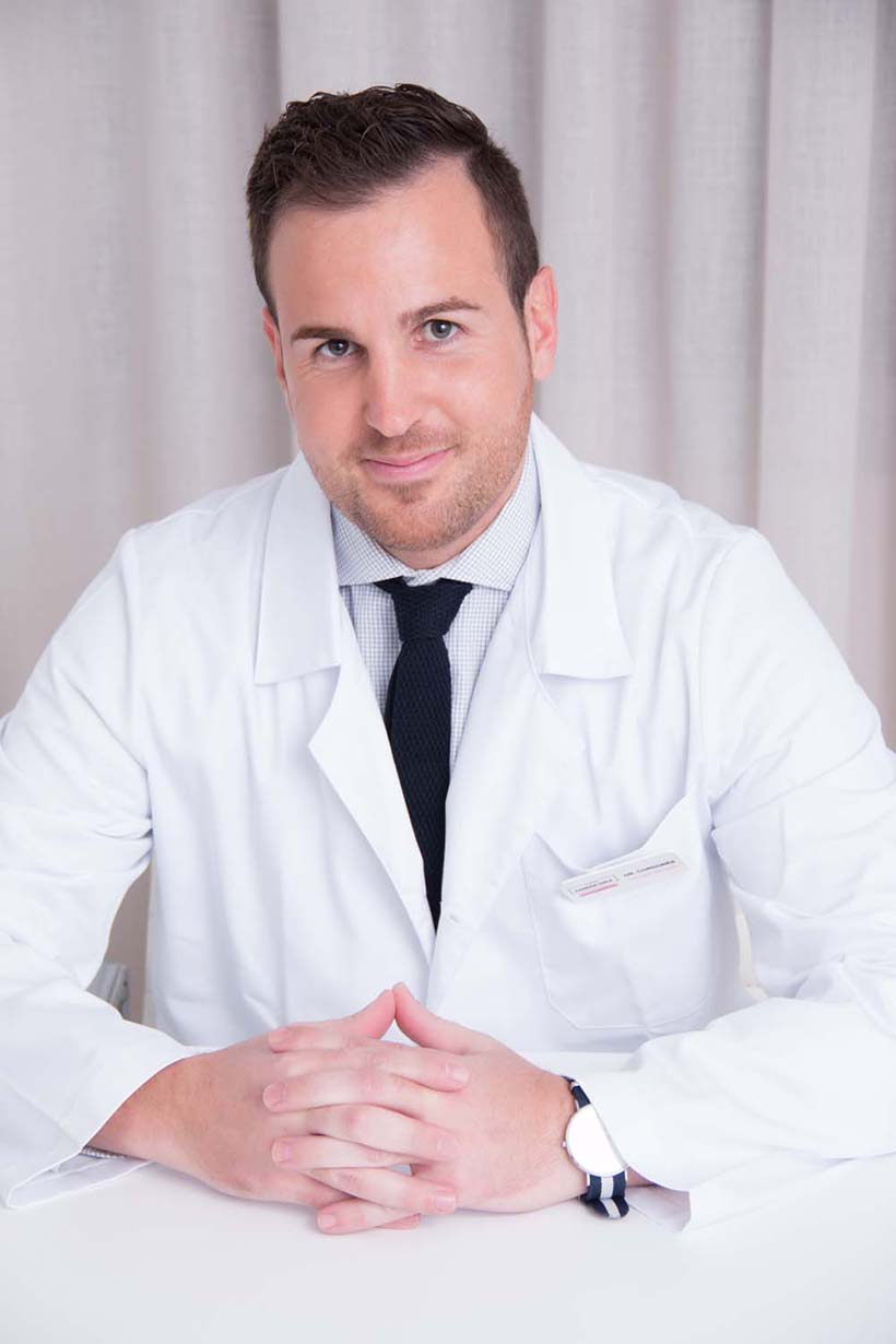 Jordi Cordobès, cirurgià vascular especialista en tot tipus de varius.