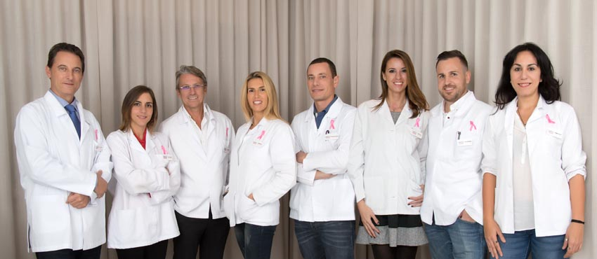 equipo cáncer mama